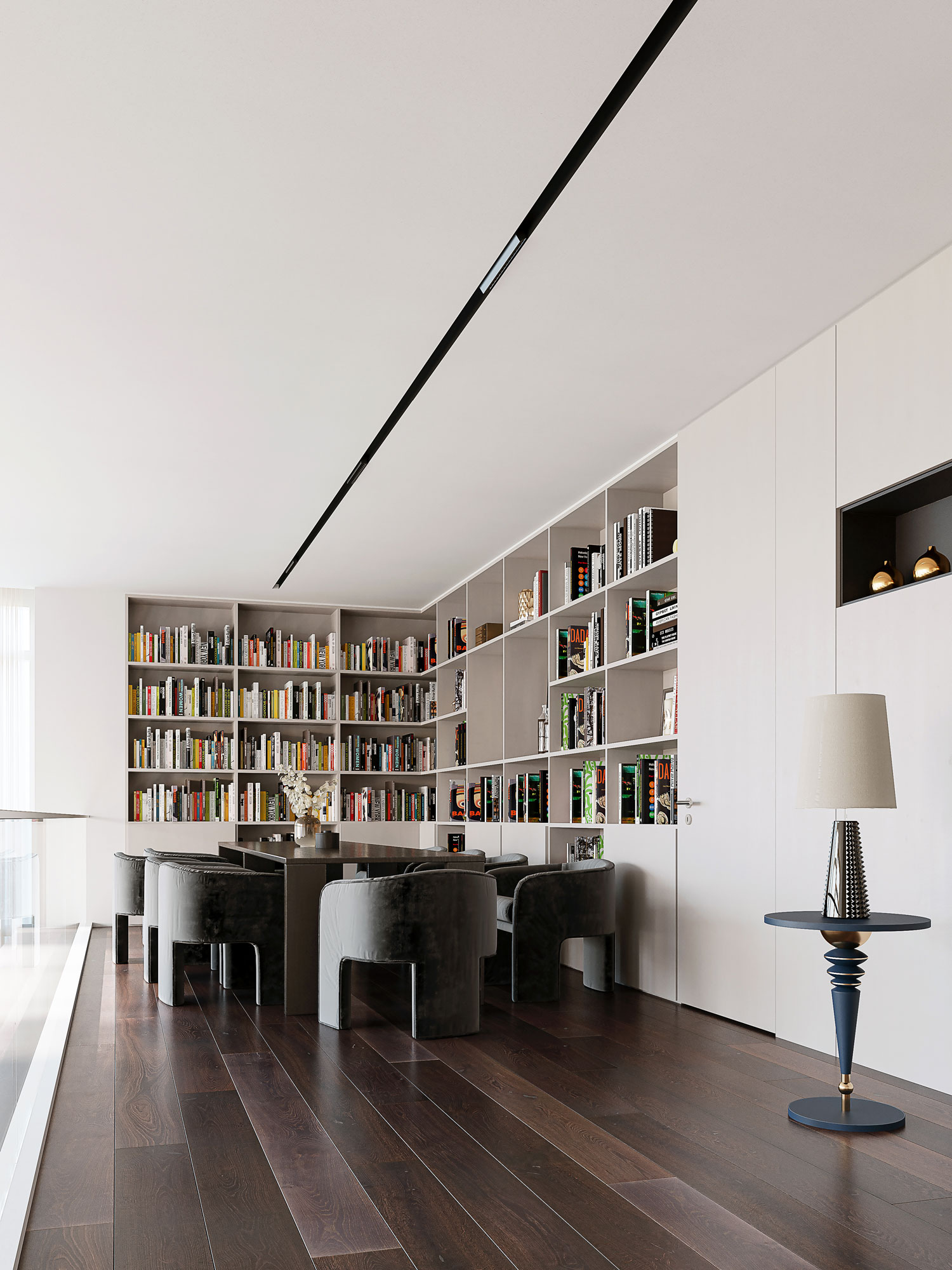 Penthouse by ZUH Visuals - library
