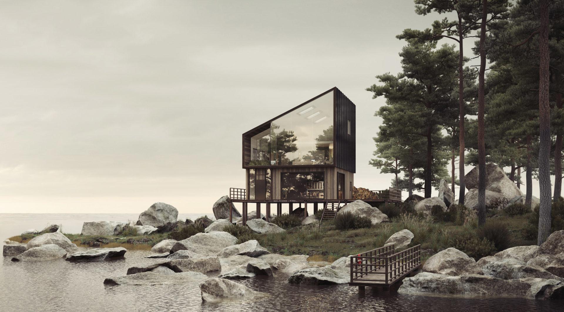 Casa Tri by Santiago Vilaseca, Kraken Studio