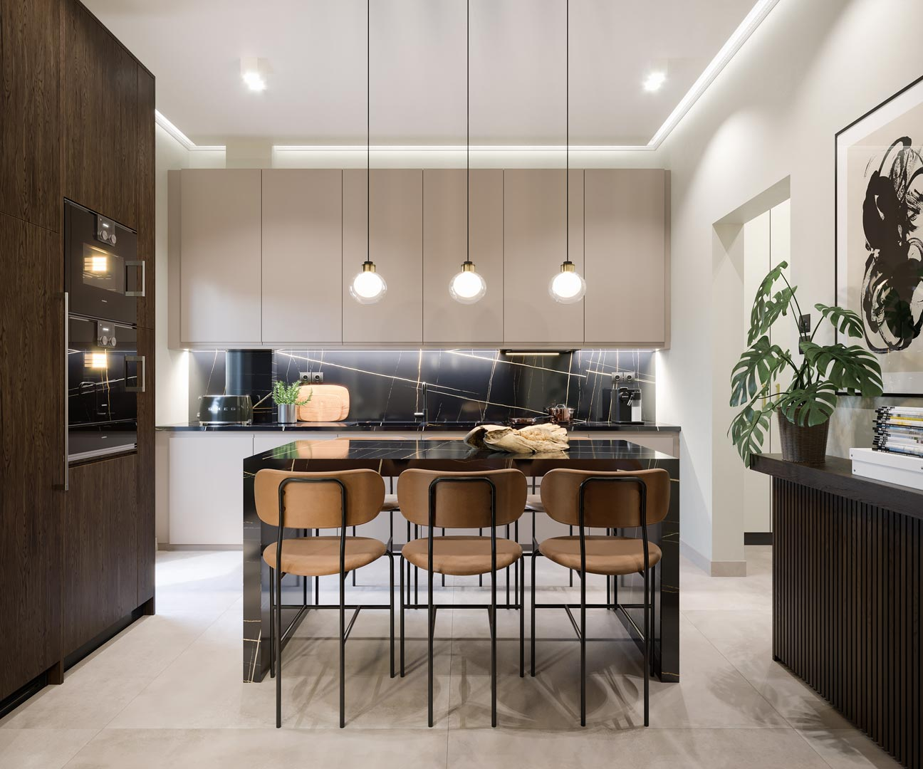 Kitchen by Xenia Liodi
