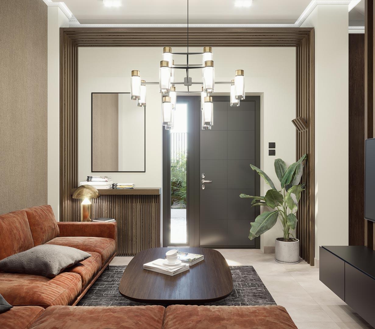 Living Room by Xenia Liodi