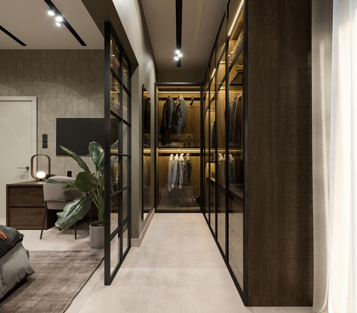 Walk-in closet by Xenia Liodi