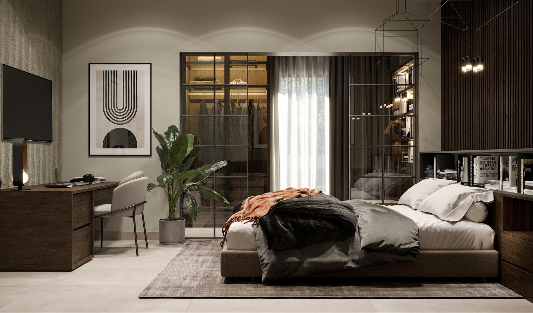 Bedroom by Xenia Liodi