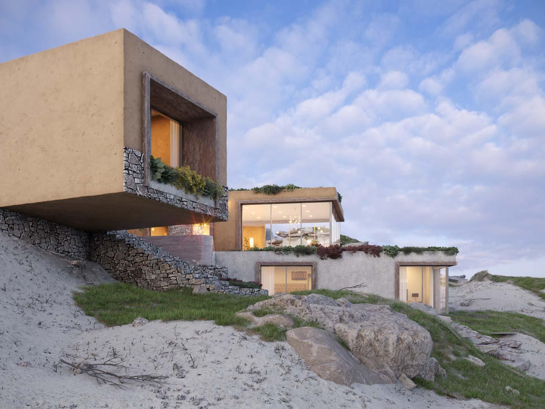 Beach house by Diego Pérez Prado