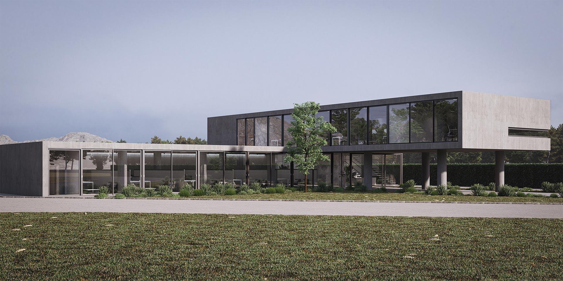 Xenia Liodi - Office building in Patra