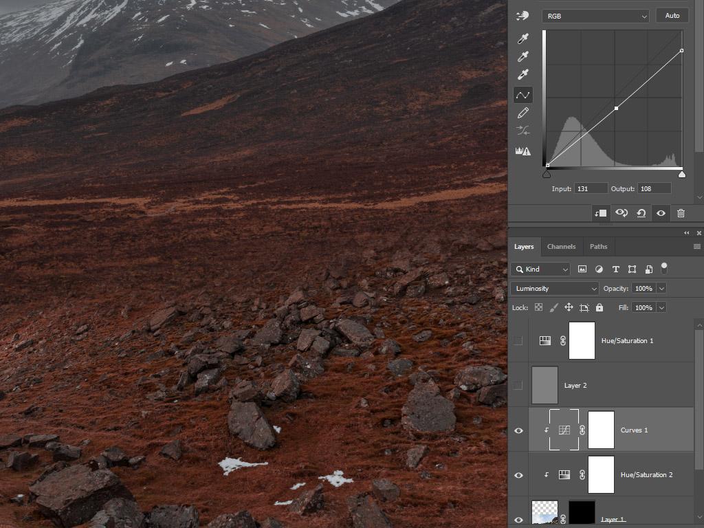 Adobe Photoshop color match